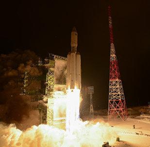 El primer lanzamiento del cohete pesado ruso Angara-A5 desde el cosmódromo Plesetsk