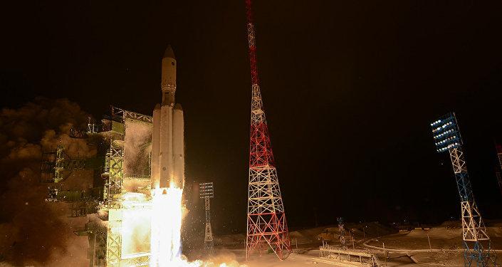 Primer lanzamiento del cohete pesado ruso Angará-A5 (archivo, 2014)