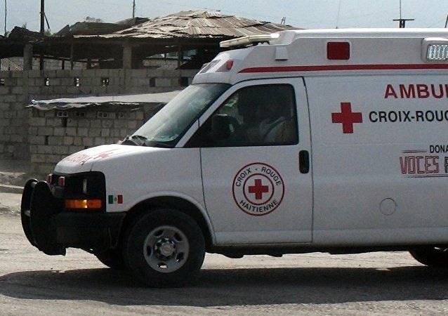 Ambulancia de Haití