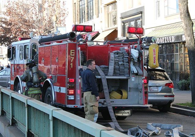 Camión de bomberos en Connecticut
