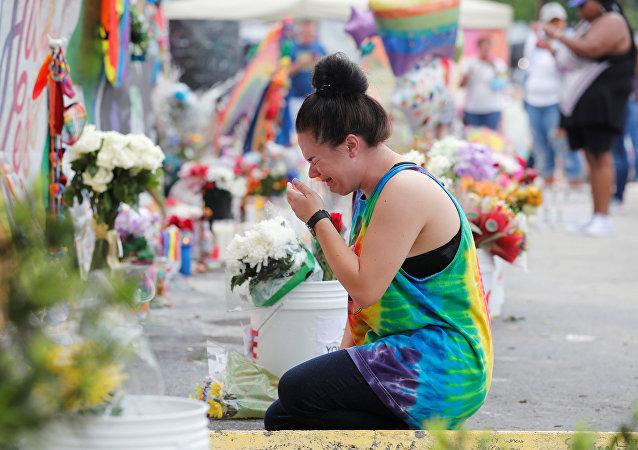 Homenaje de la matanza de Orlando