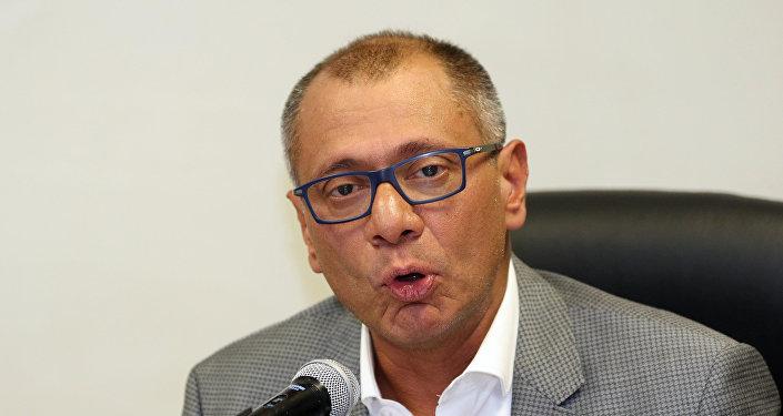 Vicepresidente de Ecuador pide dar su versión sobre Odebrecht al Parlamento