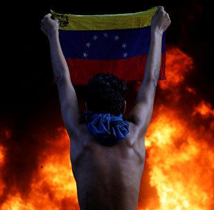 Protestas en Venezuela (archivo)