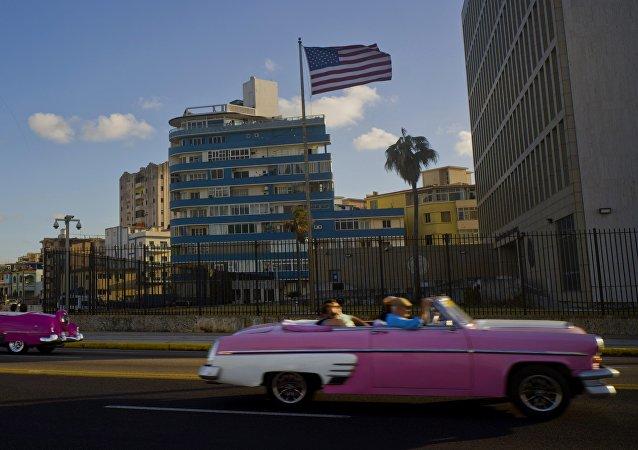 Embajada de EEUU en la Habana, Cuba (archivo)
