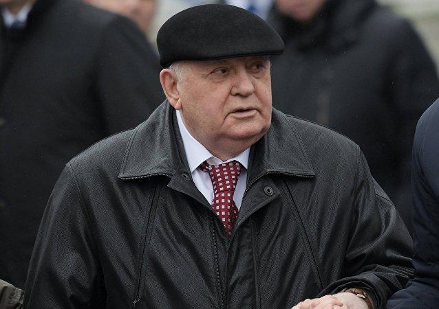Mijaíl Gorbachov, el expresidente de la URSS
