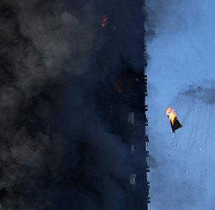 Incendio en edificio de viviendas Grenfel Tower de Londres