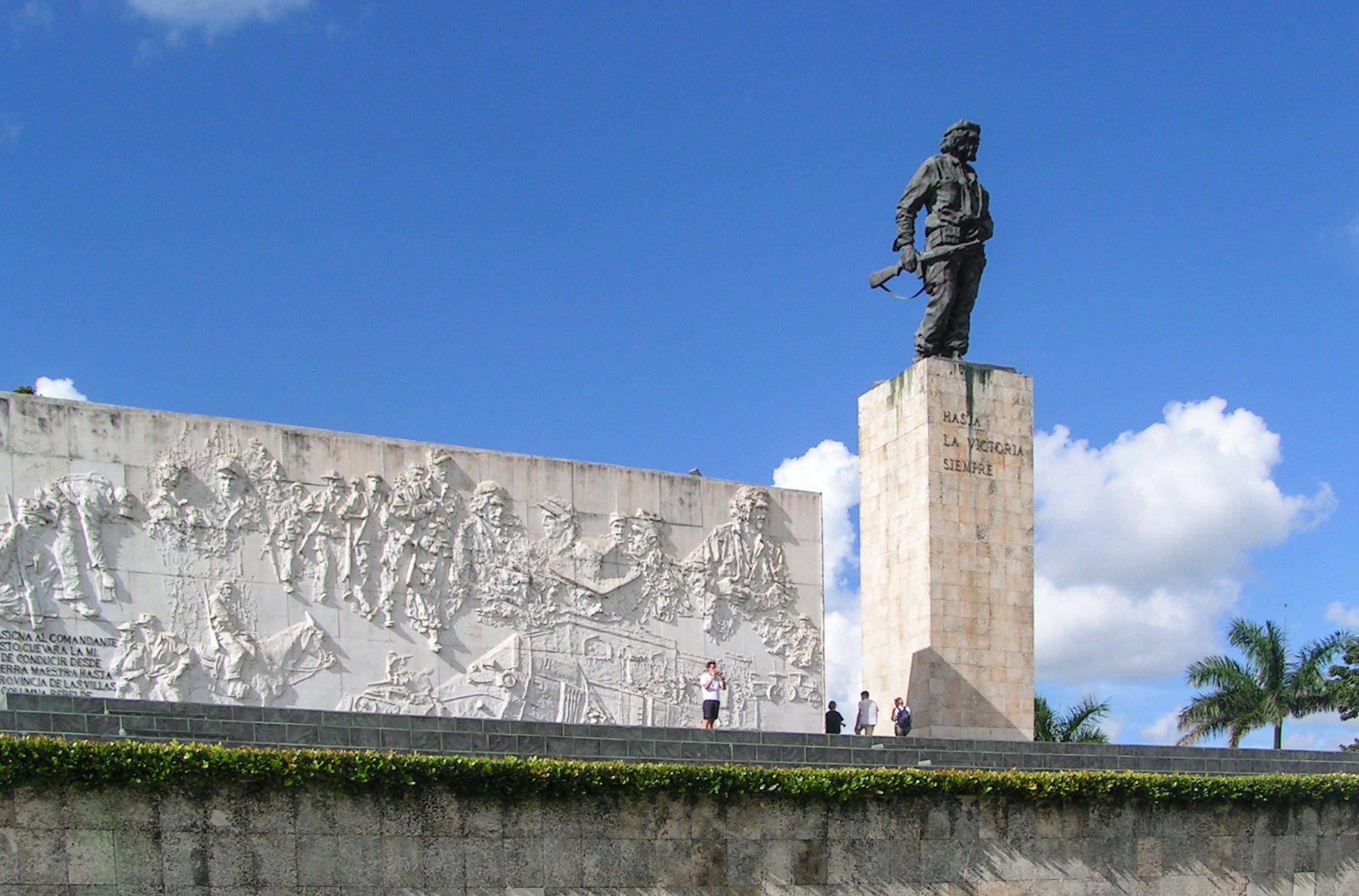 Mausoleo de Ernesto Che Guevara en la ciudad de Santa Clara, Cuba