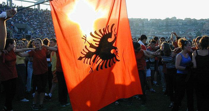 Bandera de Albania