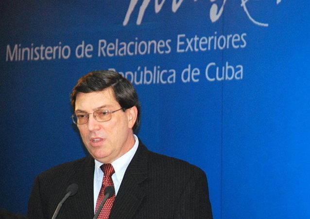 Bruno Rodríguez, ministro de Relaciones Exteriores de Cuba (archivo)