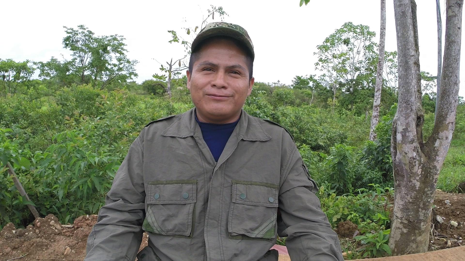 Franklin Valdez, guerrillero ecuatoriano de las FARC