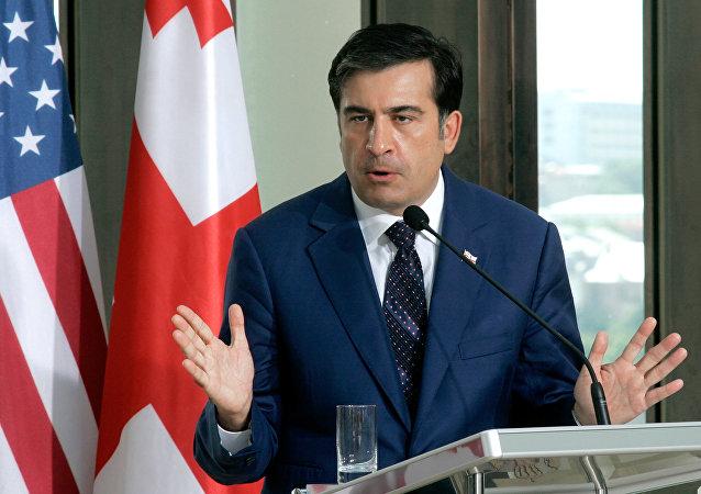Mijaíl Saakashvili, expresidente de Georgia (Archivo)