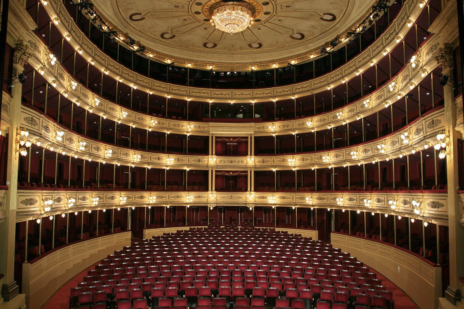 Sala Principal del Solís Teatro Solís