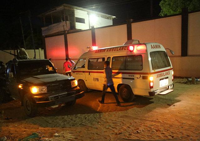 Ataque de los yihadistas en Mogadiscio