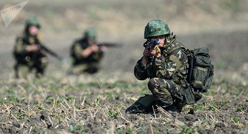 Soldados rusos (archivo)