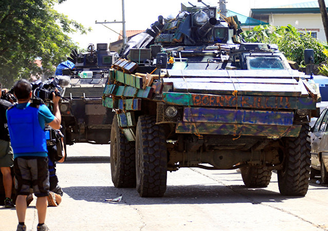 Situación en Marawi, Filipinas