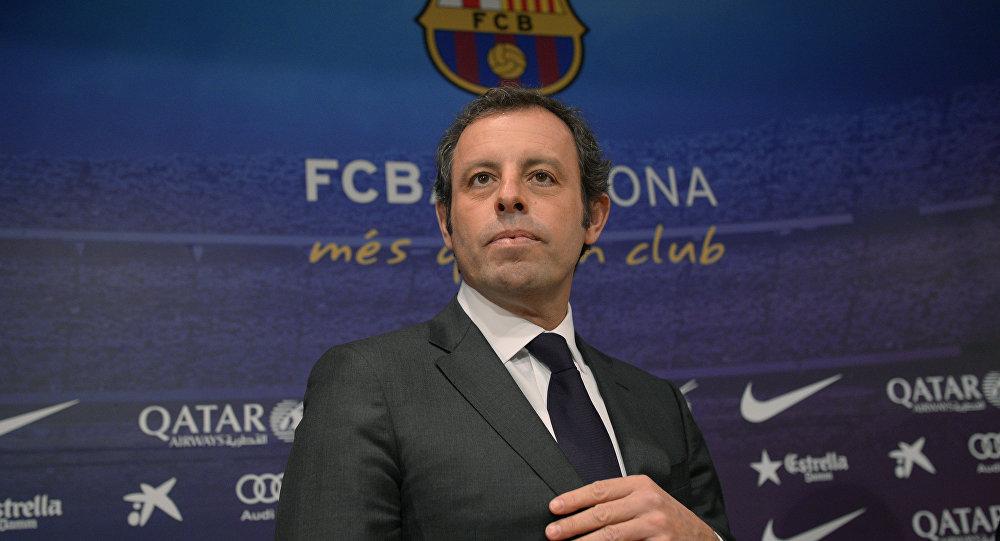 Sandro Rosell, expresidente del FC Barcelona (archivo)