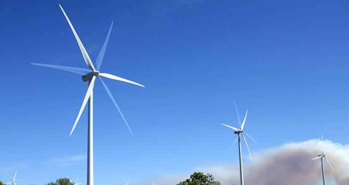 Molinos de viento (imagen referencial)