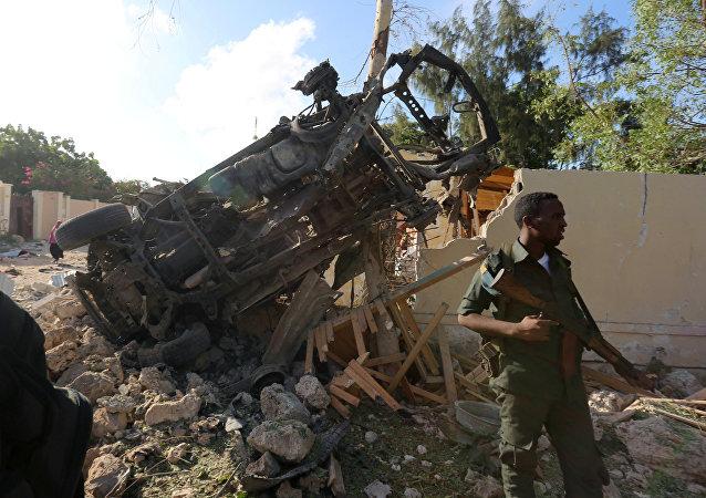 Coche bomba en Somalia