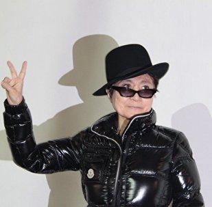 Yoko Ono, la artista japonesa