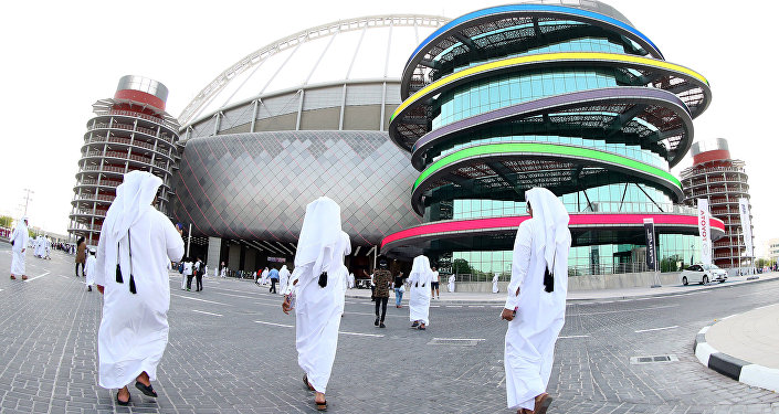 Khalifa International Stadium en Doha, Catar