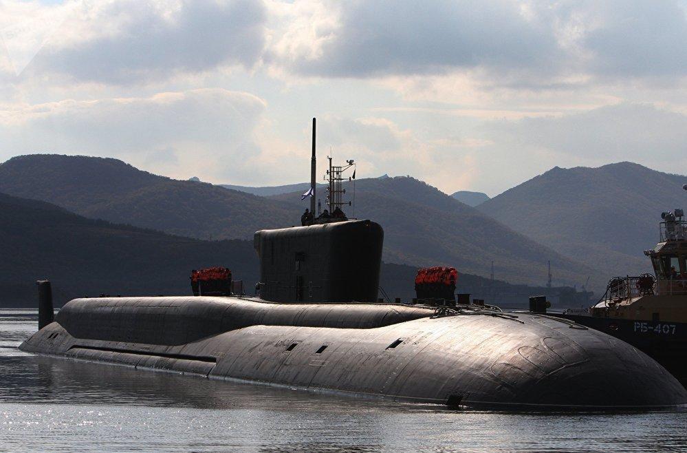 Submarino ruso del proyecto Boréi