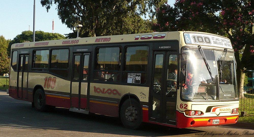 Ómnibus en Buenos Aires (archivo)