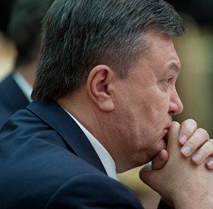 Víctor Yanukóvich, ex-presidente de Ucrania