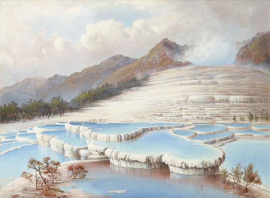 Las Terrazas Rosas y Blancas de Nueva Zelanda están bajo metros de ceniza y su localización había sido un misterio hasta hoy