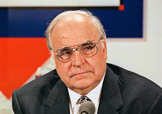 Helmut Kohl, excanciller federal de Alemania