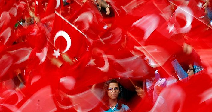 Las banderas de Turquía (archivo)