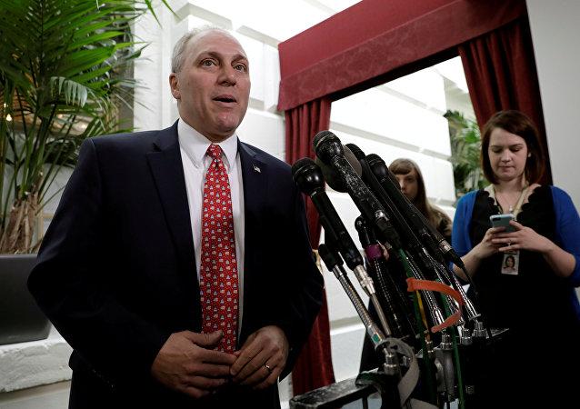 Steve Scalise, congresista estadounidense (archivo)