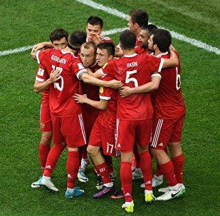 Rusia sale victoriosa en el primer partido de la Copa Confederaciones
