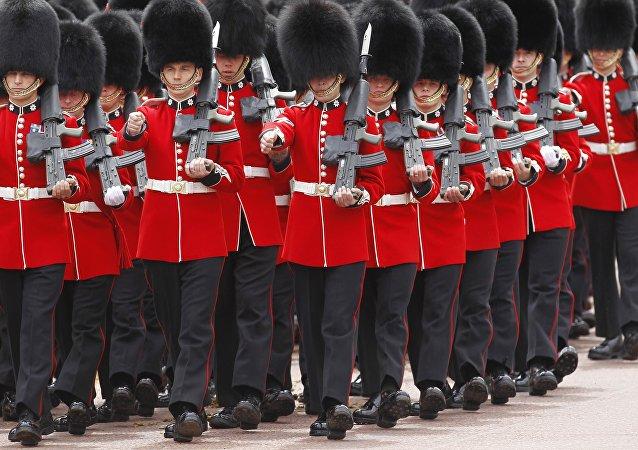 Guardias reales, Londres