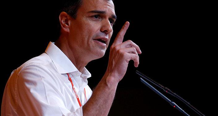 El secretario general del Partido Socialista Obrero Español (PSOE), Pedro Sánchez