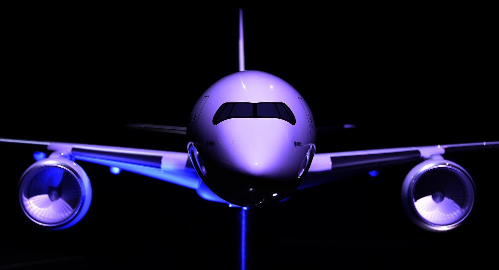 Modelo de avión A380