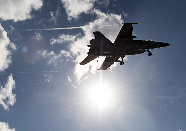 F/A-18E de la Armada de EEUU
