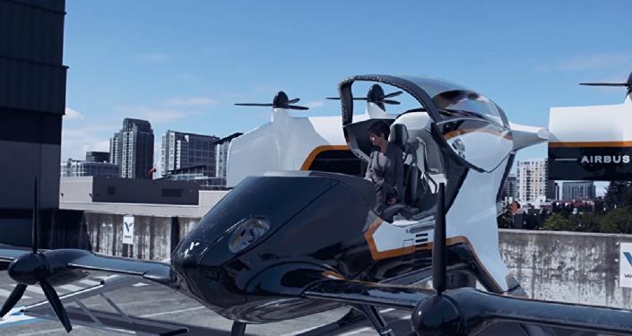 Airbus muestra lo fácil que será volar en taxi con una aplicación