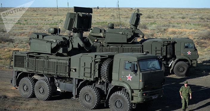 Sistemas antiaéreos Pántsir-S1
