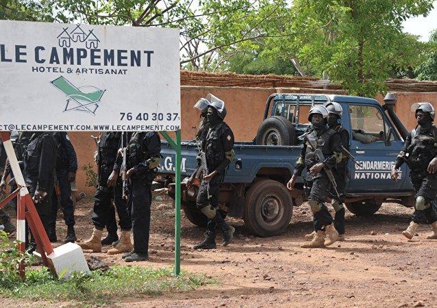 Miembros de la fuerza especial antiterrorista de Mali