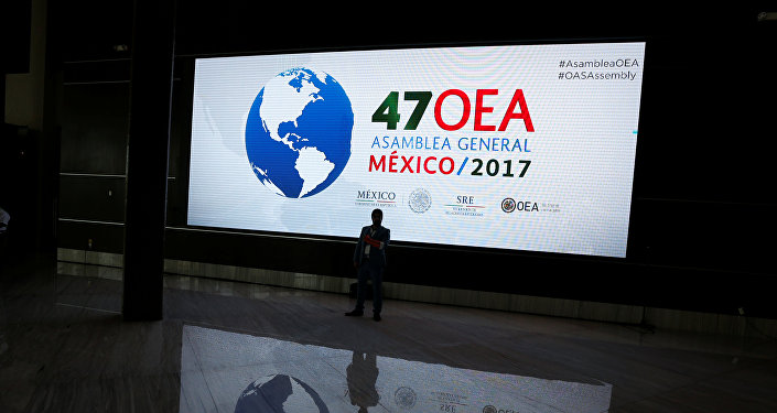 La 47 Asamblea General de la OEA