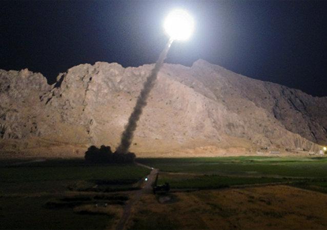 El ataque de Irán contra los terroristas en la provincia siria de Deir Ezzor