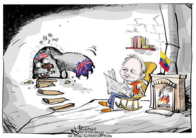 Assange, ¿preso por decir la verdad sobre EEUU?