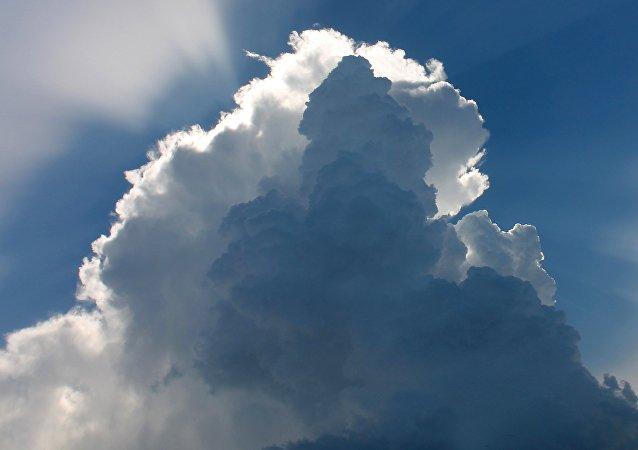 Una nube (imagen referencial)