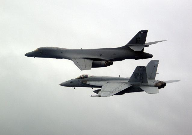 Los bombarderos B-1B Lancer