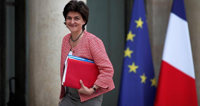 Sylvie Goulard, ministra de Defensa de Francia (archivo)
