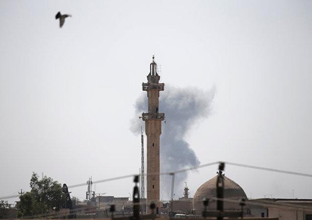 Situación en Mosul, Irak (archivo)