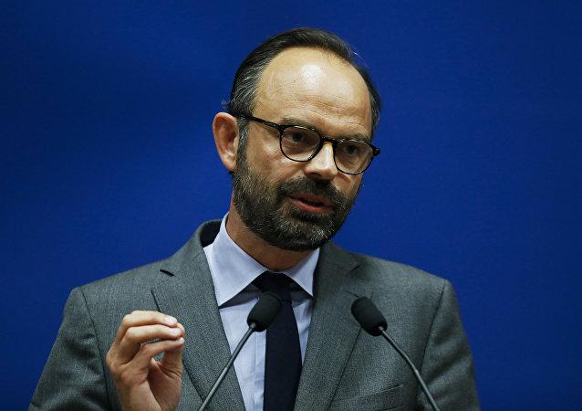 Edouard Philippe, primer ministro francés (archivo)