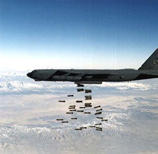 El B-52, utilizado en los bombardeos de Yugoslavia
