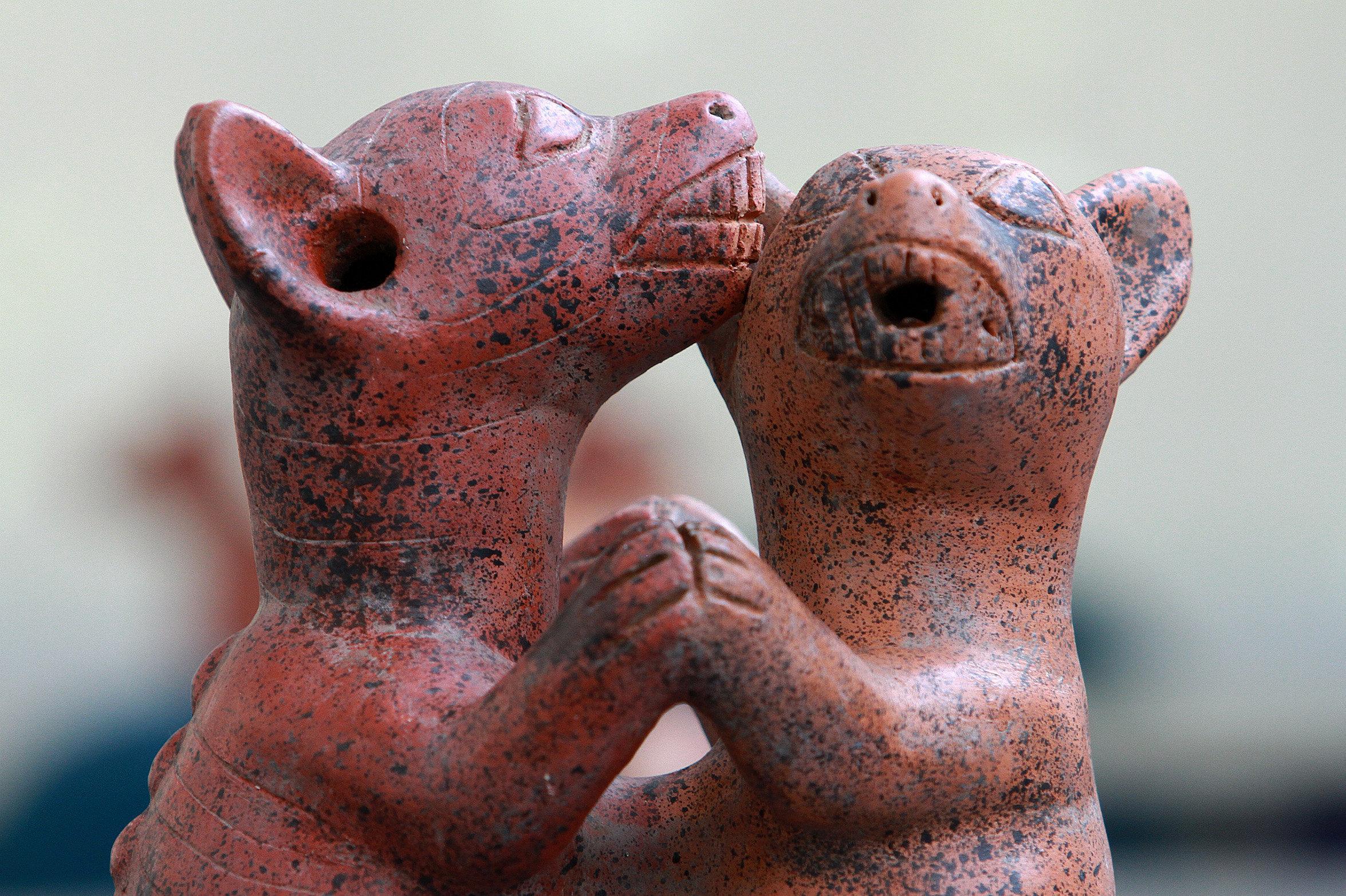 Los perros en el arte prehispánico