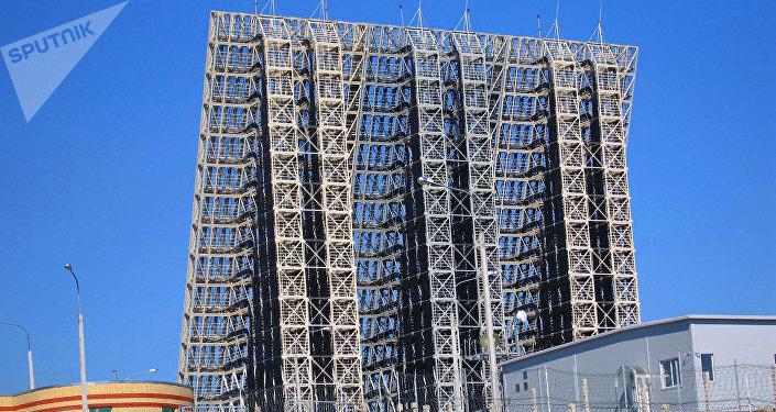 Un sistema de radares Voronezh (archivo)
